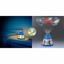 Philips Marvel Spiderman children's LED night light projector portable battery