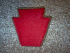 "WWI US Army 28th Infantry Division ""Keystone"" Patch  AEF"