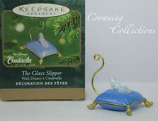 2001 Hallmark The Glass Slipper Cinderella Disney Keepsake Ornament Miniature