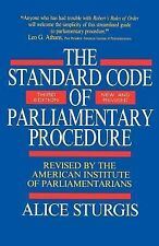 Standard Code of Parliamentary Procedure-ExLibrary