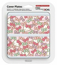 New Nintendo 3DS Kisekae Cover Plate No.066 (Hello Kitty) JAPAN IMPORT OFFICIAL