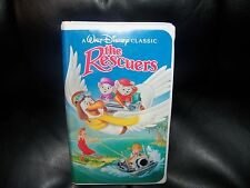 The Rescuers (VHS, 1992) EUC