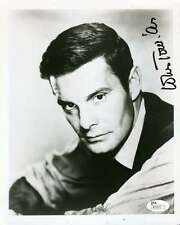 LOUIS JOURDAN JSA COA HAND SIGNED 8X10 PHOTO AUTHENTICATED AUTOGRAPH