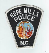 VINTAGE HOPE MILLS, NC POLICE (CHEESE CLOTH BACK) patch