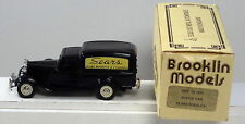 DTE 1:43 BROOKLIN MODELS BRK 16 BLACK SEARS ROEBUCK & COMPANY 1935 DODGE VAN NIB