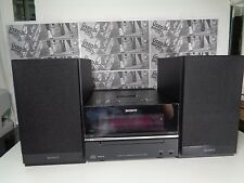 Sony HCD-BX20i CD iPod Dock AM FM Radio Micro Component System Speakers