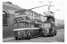pt9548 - Doncaster Trolleybus BDT 120 at Grey Friars , Yorkshire - photograph