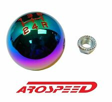 NEOCHROME BILLET ROUND RACING SHIFT KNOB FOR 90-05 MAZDA MIATA MX5 5SP