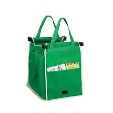 Grocery Large Trolley Clip-To-Cart Supermarket Foldable Reusable Shopping Bags