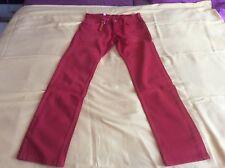 Hammett Herren-Jeans von Strellson in rot UVP 119,00Euro 31,32,33,34,35,36