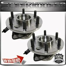 TWO GMC Chevy K1500 K2500 Front Wheel Hub Bearing Assembly 4WD 4X4 & 6 Lug W/ABS