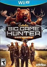 Cabela's Big Game Hunter: Pro Hunts USED SEALED (Nintendo Wii U, 2014)