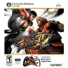 Street Fighter IV For PC By Capcom - GREAT CONDITION - Disk,Game manual,Prd Key