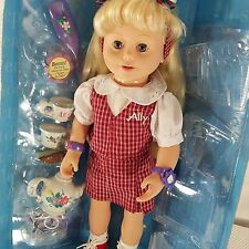 Playmates Amazing Ally Doll Let's Play School Outfit Tea Set In Box Many Access