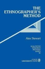 Qualitative Research Methods: The Ethnographer's Method Vol. 46 (1998,...