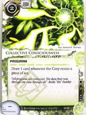 Android Netrunner LCG - 1x Collective Consciousness #116 - Overdrive Runner Draf