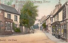 Happy Xmas Bexhill Old Town  pc used 1906 Frith