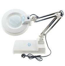 Desk LED lamp magnifier Old reading electronic maintenance inspection 10X