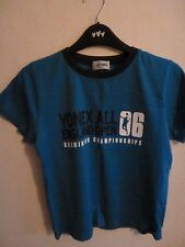 YONEX BADMINTON TOP SIZE S ALL ENGLAND 2006  L BLUE