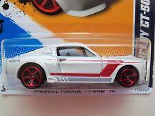 HOT WHEELS - MUSCLE MANIA - FORD '12 - '67 SHELBY GT-500 MUSTANG - 1/64 DIECAST