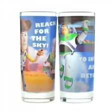 Disney Toy Story Set of Two Glasses Buzz Lightyear and Woody
