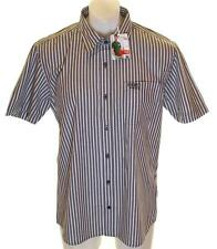 Bnwt Mens Authentic Hero Wrangler Short Sleeve Shirt New RRP£59.99 Large Grey