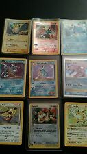 Pokemon Card Lot-  40 Cards!  2 Rare Guaranteed!  Mostly old, 1st Generation!