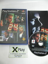 PS2 24 The Game Pal España completo no platinum