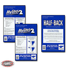 100 - E. GERBER HALF-BACK & MYLITES 2 CURRENT Mylar Bags & Boards! 675HB/700M2