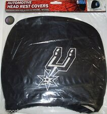 NBA NWT HEAD REST COVERS -SET OF 2- SAN ANTONIO SPURS