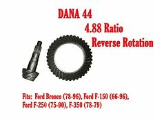 RING & PINION GEAR SET, DANA 44, 4.88 RATIO, REVERSE Ford Bronco, F-150 D44-488R