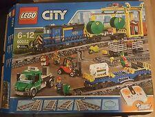 LEGO City: 60052 TRENO CARGO-NUOVO-SCATOLA DANNEGGIATA