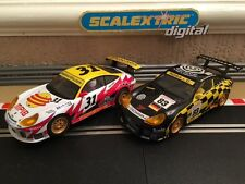 Scalextric Digital 911 GT3R No31 & No83 **Near Mint Condition**