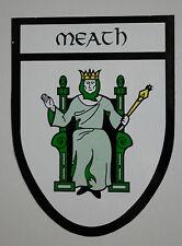 IRISH COUNTY CREST STICKER * MEATH * Window & Bumper Sticker