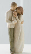 Willow Tree Our Gift figurine #26181 baby infant newborn couple parents Demdaco
