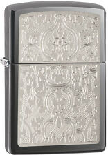 Zippo Oriental Abstract  Black Ice Windproof Lighter 28469 NEW