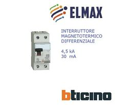 BTICINO INTERRUTTORE DIFFERENZIALE GC8813AC25