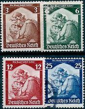 German WW2 Nazi, #565-68 3rd Reich Germany postage