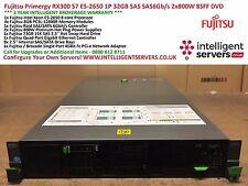 Fujitsu Primergy RX300 S7 1x E5-2650 32GB SAS6Gb/s 2x800W 1x73GB SAS 2x NIC
