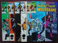 Kitty Pryde and Wolverine #1 thru #6 - Six book SET  NM - 1984
