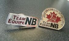 Prince George Canada 2015 Winter Games Team Equipe New Brunswick NB  pin set