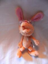 "RARE  NICKTOONS  7"" REN AND STIMPY SOFT TOY WITH GOOGLY EYES"