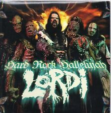 CD Single EUROVISION 2006 Finlande : LORDI Hard rock hallelujah 2-track CARDsl