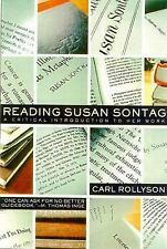 Reading Susan Sontag: A Critical Introduction to Her Work, Carl Rollyson, New Bo