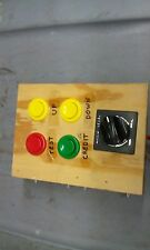lazer-tron solar stomp arcade redemption volume controller with switches
