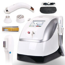 Dual Handles E-light IPL Permanent Hair Removal Cooling RF Radio Frequency Youth