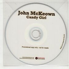 (GW760) John McKeown, Candy Girl - 2010 DJ CD