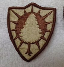 ARMY PATCH, MAINE ARMY NATIONAL GUARD HEADQUARTERS, DESERT