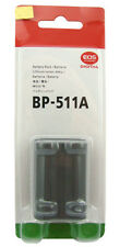 BATTERY BP-511A FOR CANON EOS 10D 20D 30D 40D 50D 60D DELIVER BY REGISTERED MAIL