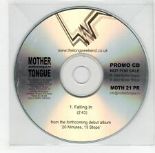 (GJ291) Mother Tongue, Falling In - 2008 DJ CD